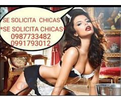 SOLICITO CHICAS para centro de masajes en CUENCA ecuador