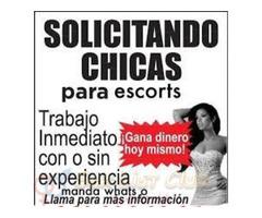 Quieres ganar en DOLARES solicito chicas scort para cuenca ecuador